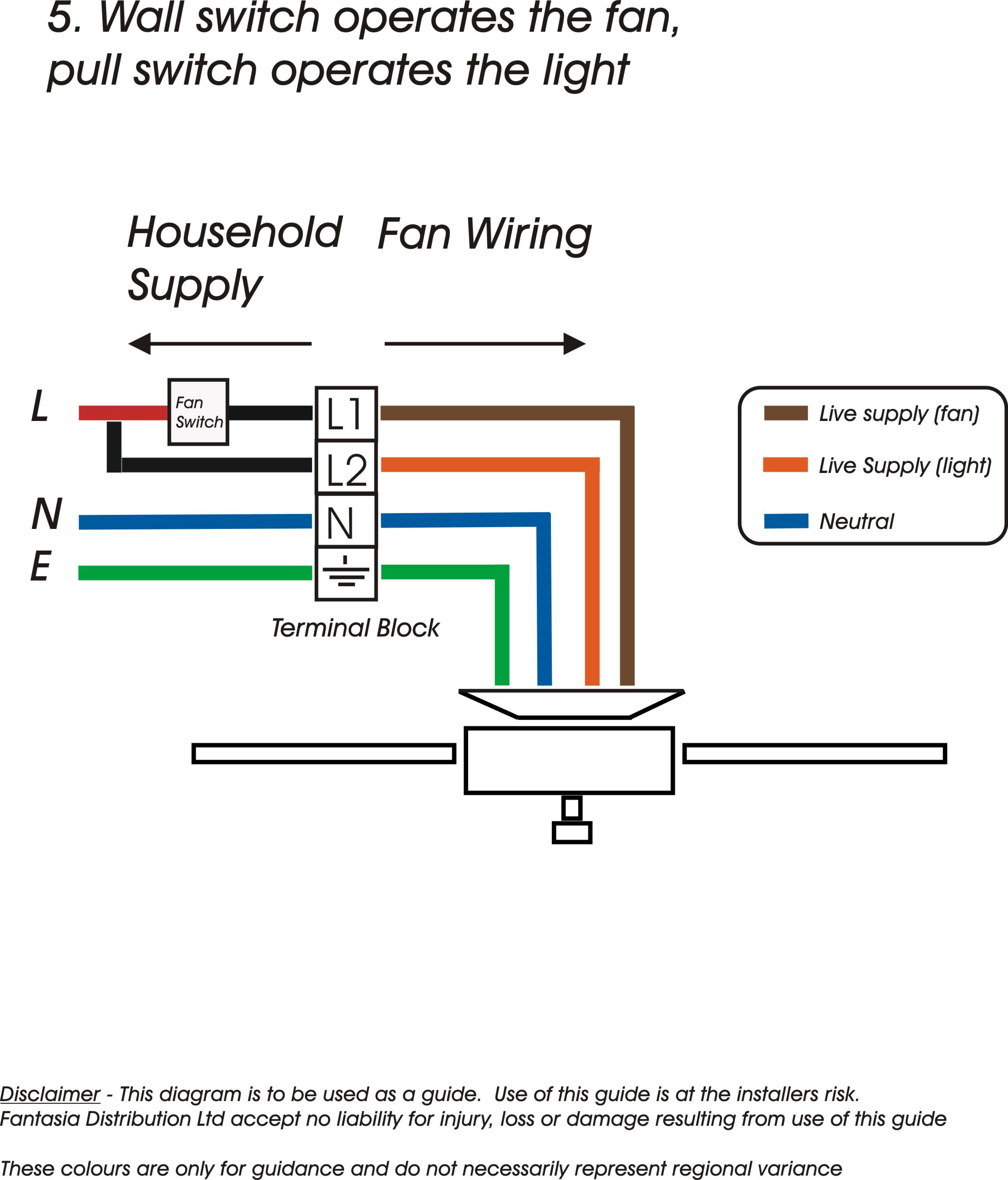 Electrical Wiring Diagram For Ceiling Fan | Manual E-Books - Fan Wiring Diagram
