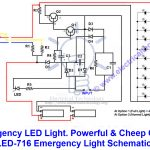 Emergency Led Lights. Powerful & Cheap Led 716 Circuit   Led Lighting Wiring Diagram