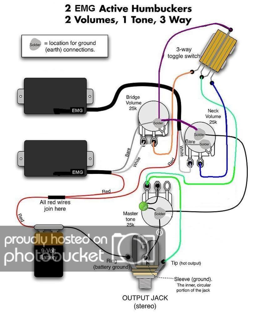 Emg Wiring Mods - Wiring Diagram Name - Emg 81 85 Wiring Diagram