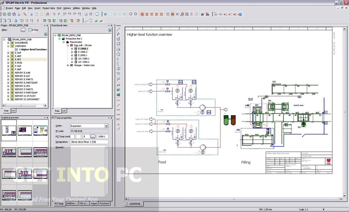 Eplan Electrical Design Software - Free Wiring Diagram For You • - Electrical Wiring Diagram Software Free Download