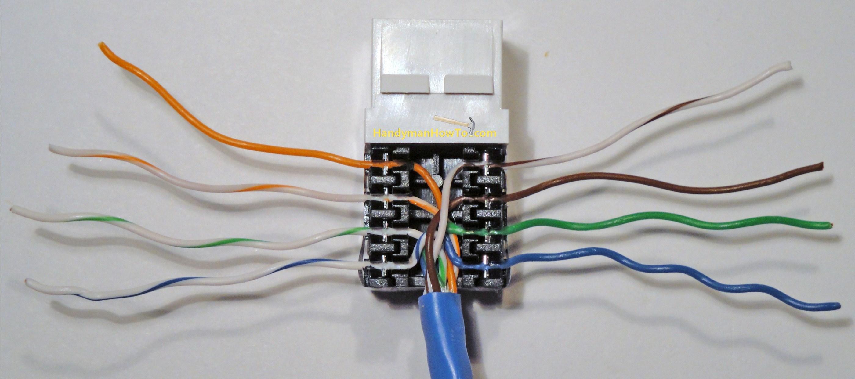 Ethernet Wall Jack Wiring - Schema Wiring Diagram - Ethernet Wall Socket Wiring Diagram