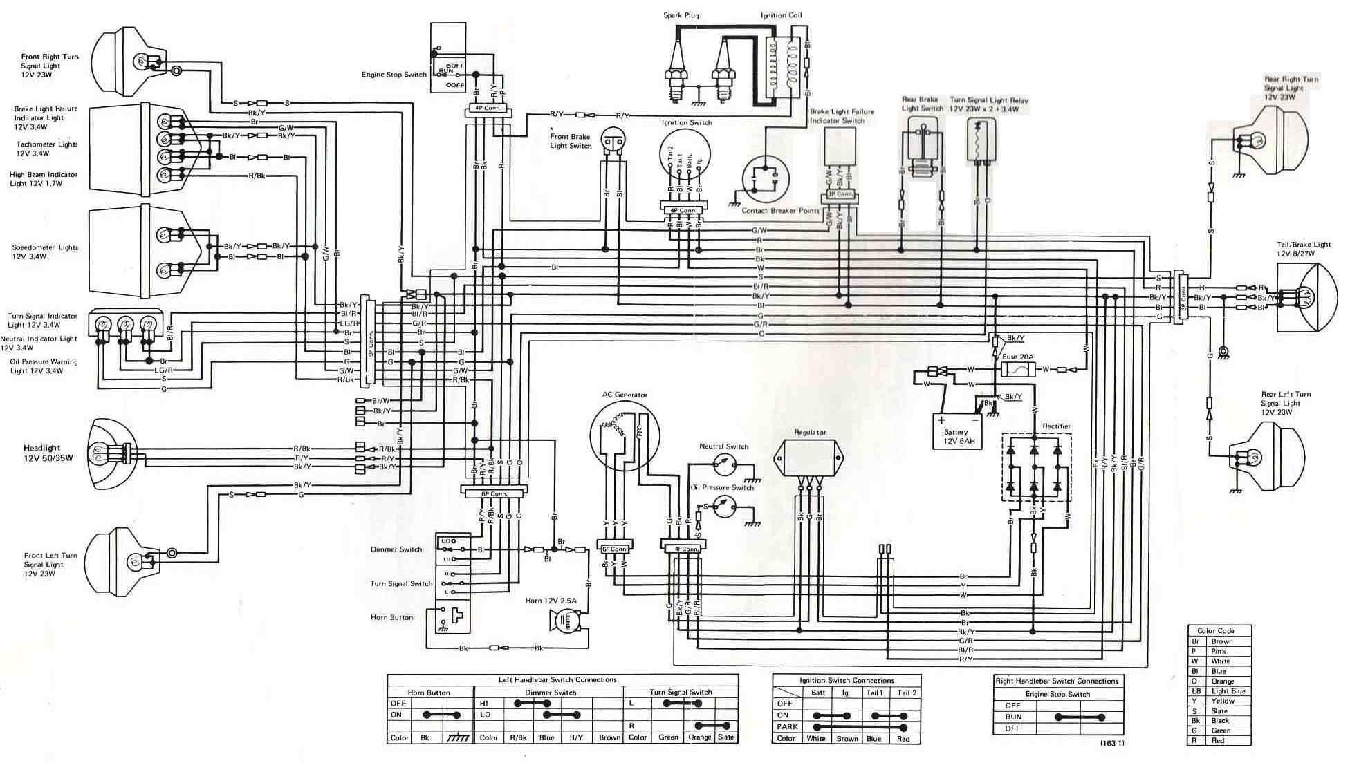 Ex 500 Wiring | Wiring Diagram - Pocket Bike Wiring Diagram