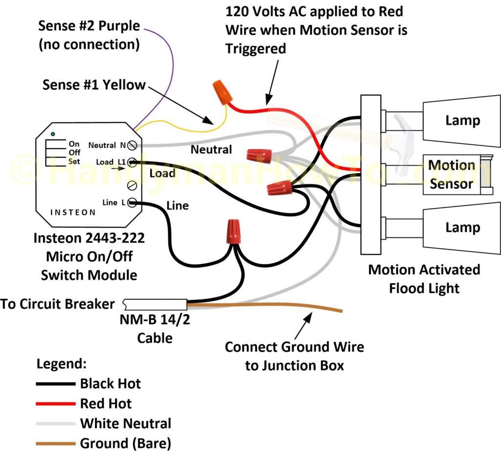 Exterior Light Wiring 380 Djfcs On Flood Diagram | Philteg.in - Flood Light Wiring Diagram