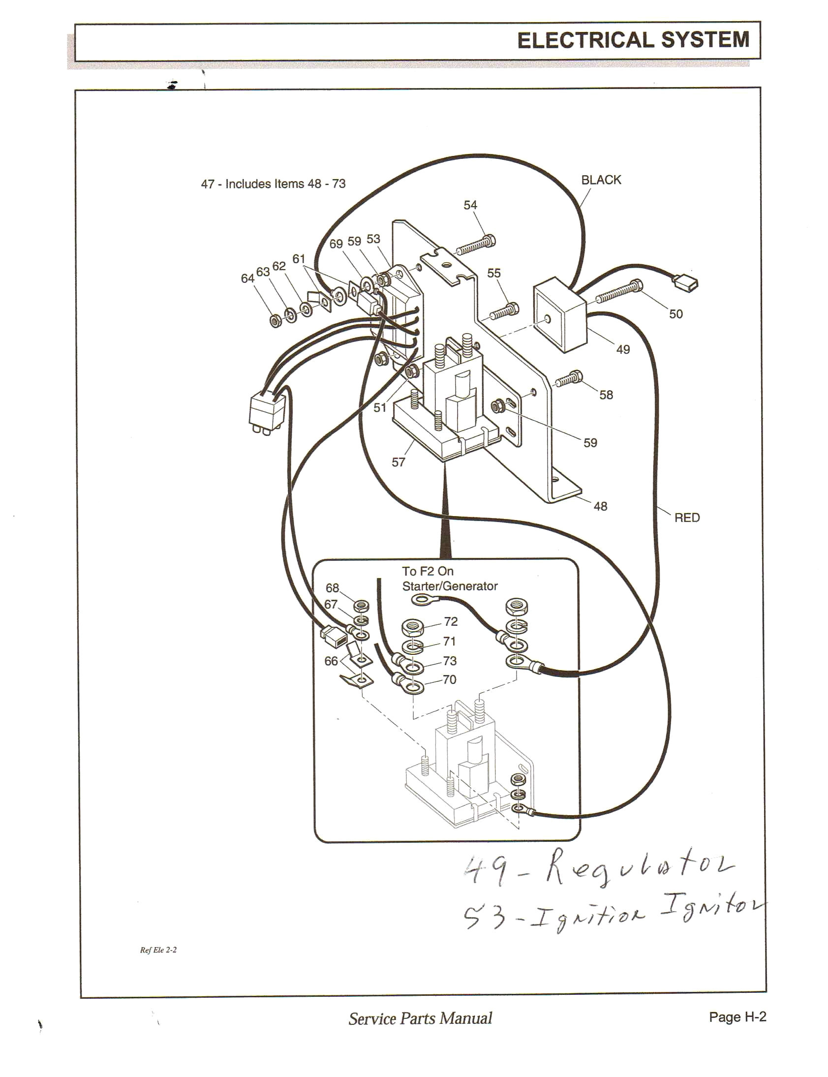 Ez Go Golf Cart Wiring Diagram Pdf - Pickenscountymedicalcenter - Ez Go Gas Golf Cart Wiring Diagram Pdf