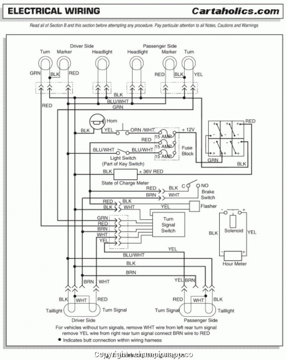 Ezgo Light Wiring Diagram | Wiring Diagram - Ez Go Golf Cart Battery Wiring Diagram