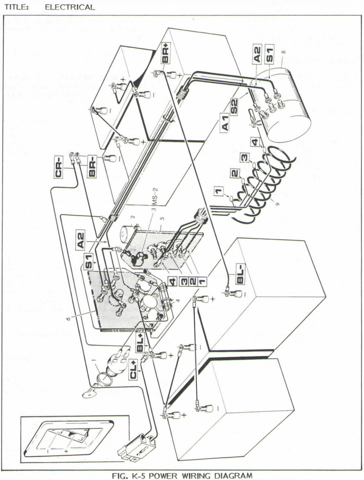 Ezgo Txt 36 Volt Wiring Diagram New Battery Wiring Diagram For Club - Ezgo Golf Cart Wiring Diagram