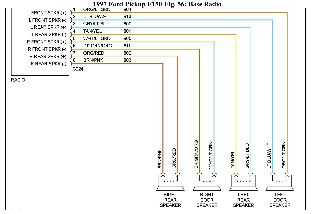 F150 Stereo Wiring Diagram - Schema Wiring Diagram - 2001 Ford F150 Radio Wiring Diagram