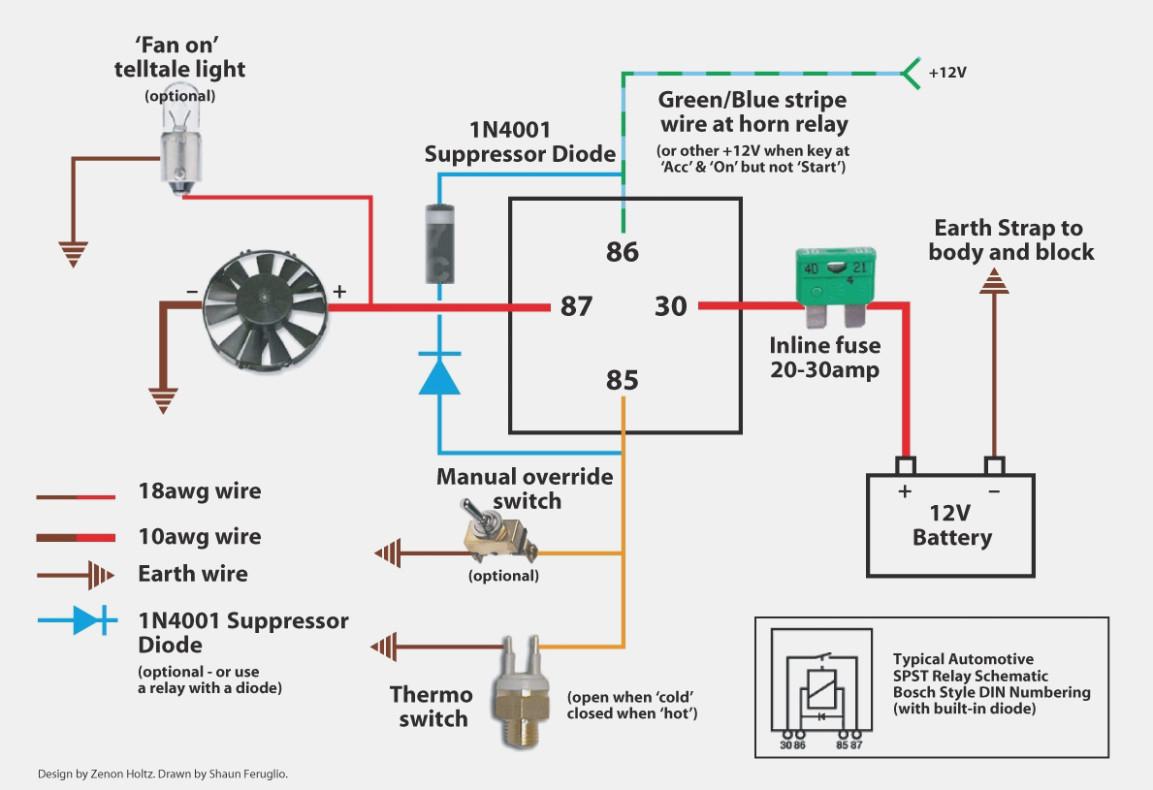 Fan Relay Diagram - Wiring Diagrams Hubs - Electric Fan Relay Wiring Diagram
