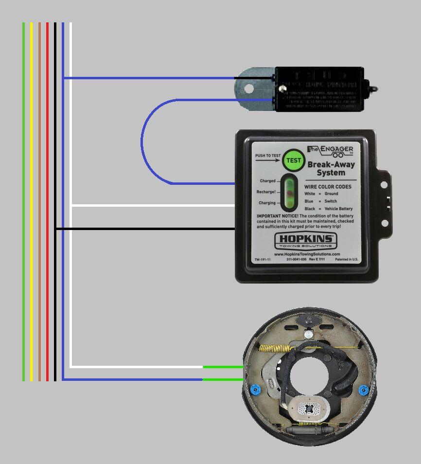 Trailer Brake Wiring Diagram