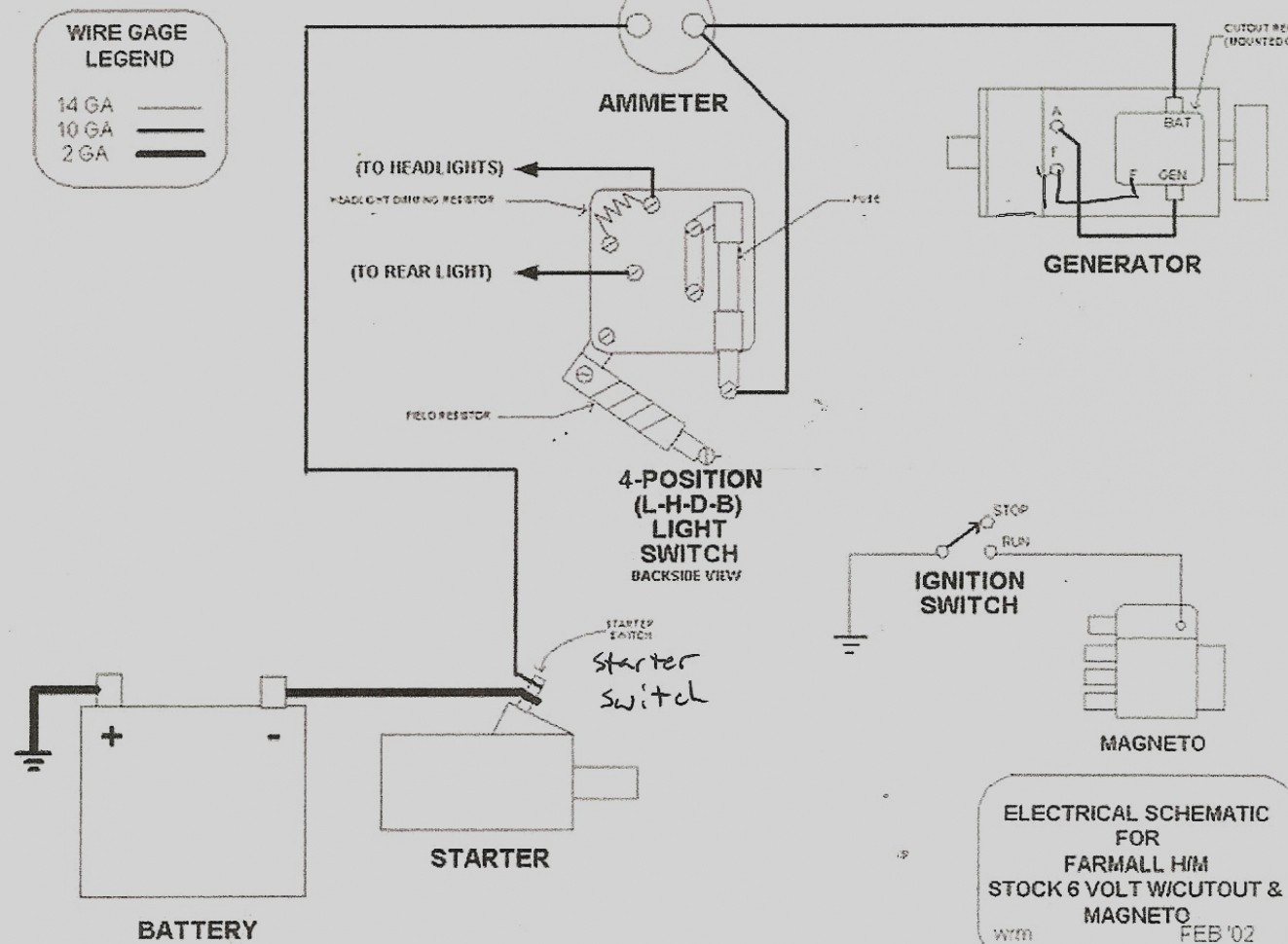 Farmall H Wiring Schematic - Wiring Diagrams Hubs - Farmall H Wiring Diagram