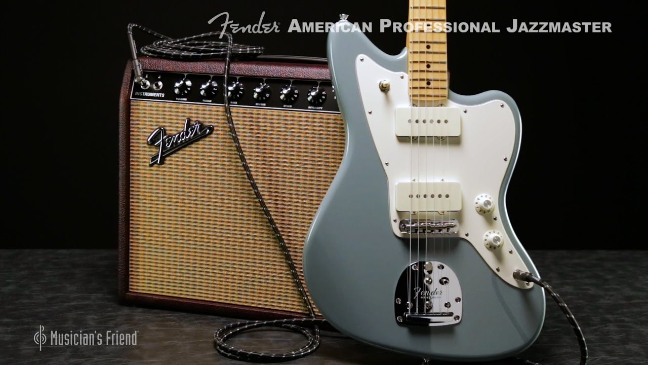 Fender American Professional Jazzmaster Electric Guitar - Youtube - Jazzmaster Wiring Diagram