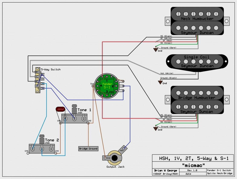 Fender Jaguar B Wiring Kit - Wiring Diagrams Hubs - Fender Jaguar Wiring Diagram
