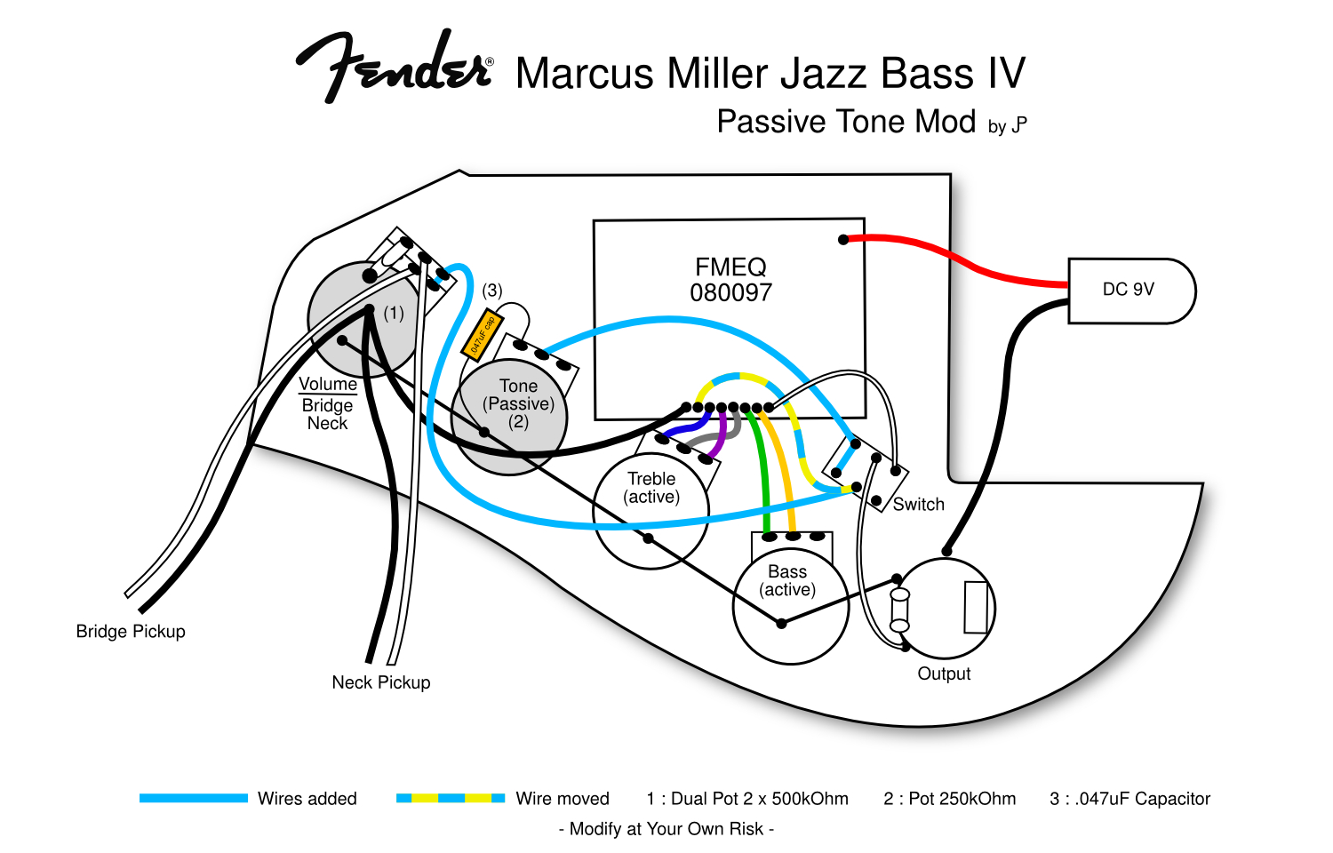 Fender Marcus Miller Jazz Bass Wiring Diagram | Wiring Diagram - Fender Jazz Bass Wiring Diagram