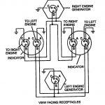Figure 4 17. Dual Synchronous Rotor Tachometer Wiring Diagram   Tach Wiring Diagram