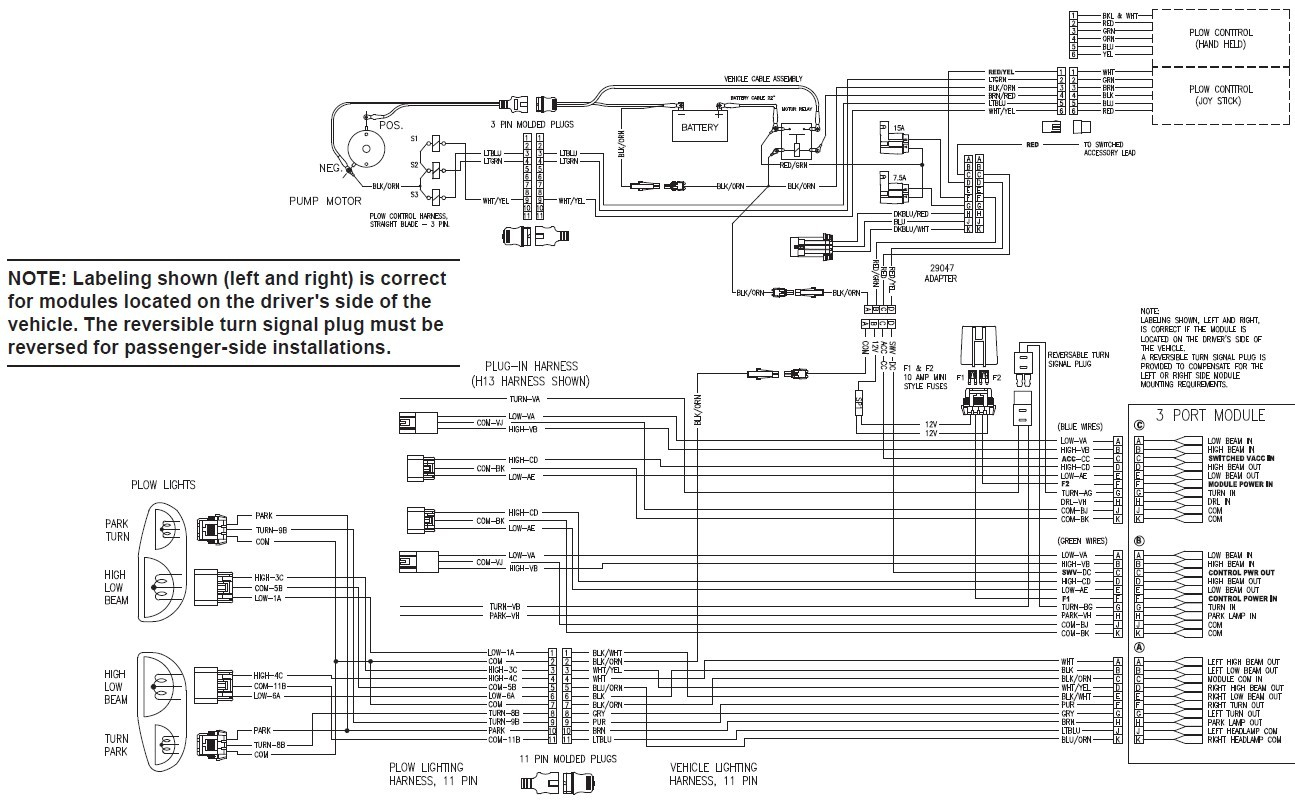 Fisher Minute Mount 2 Headlight Wiring Diagram - Schema Wiring Diagram - Fisher Plow Wiring Diagram