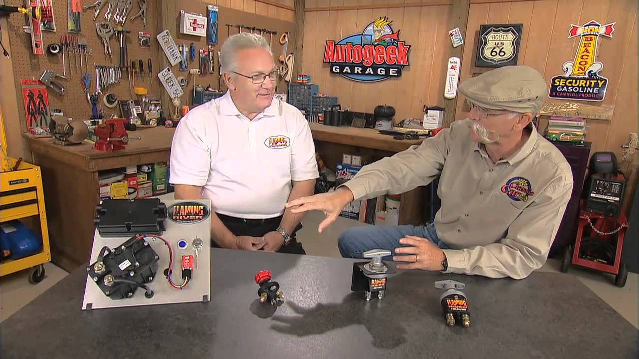Flaming River Battery Disconnect Switches - Youtube - Rv Battery Disconnect Switch Wiring Diagram
