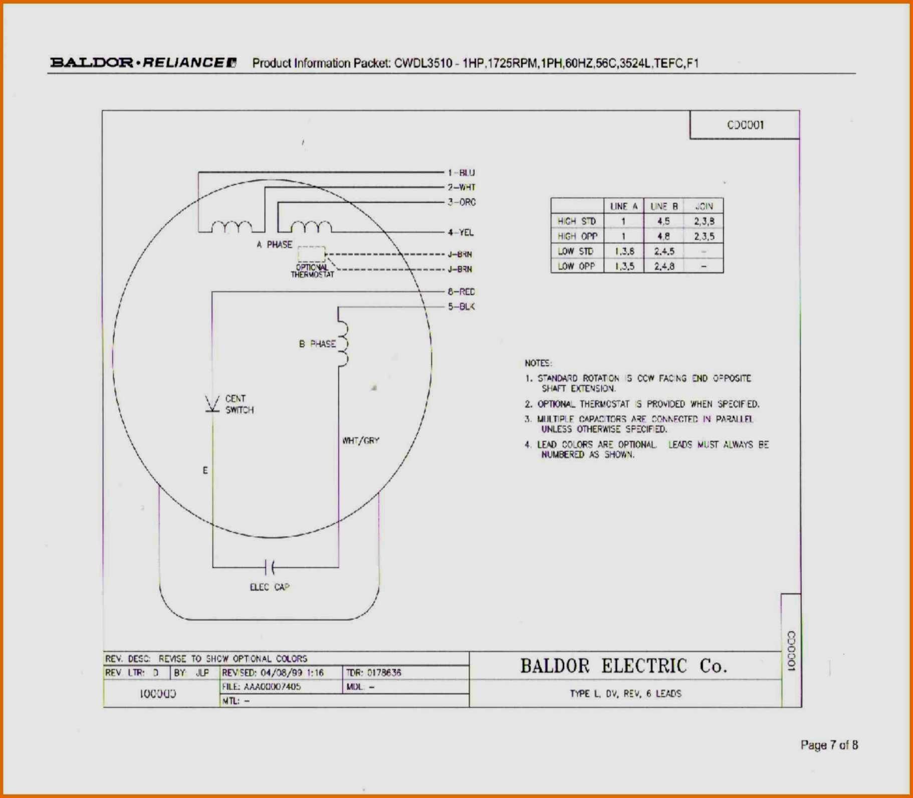 For Marathon Electric Motor Single Phase Wiring Diagrams | Wiring - 3 Phase 6 Lead Motor Wiring Diagram