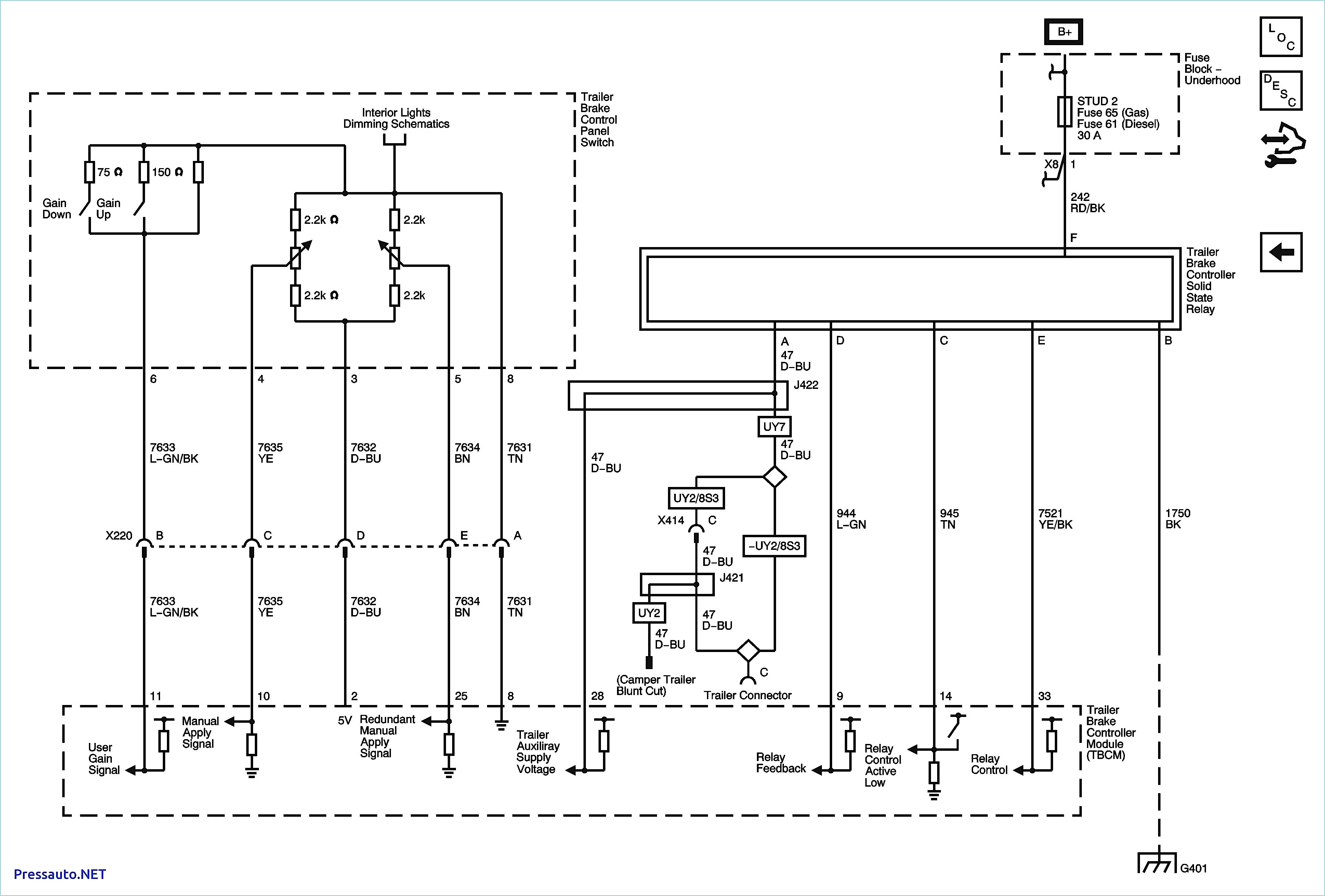Force Controller Wiring Diagram   Wiring Library - Chevy Brake Controller Wiring Diagram