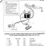 Ford 2N 12 Volt Conversion Wiring Diagram   Wiring Diagram   9N Ford Tractor Wiring Diagram