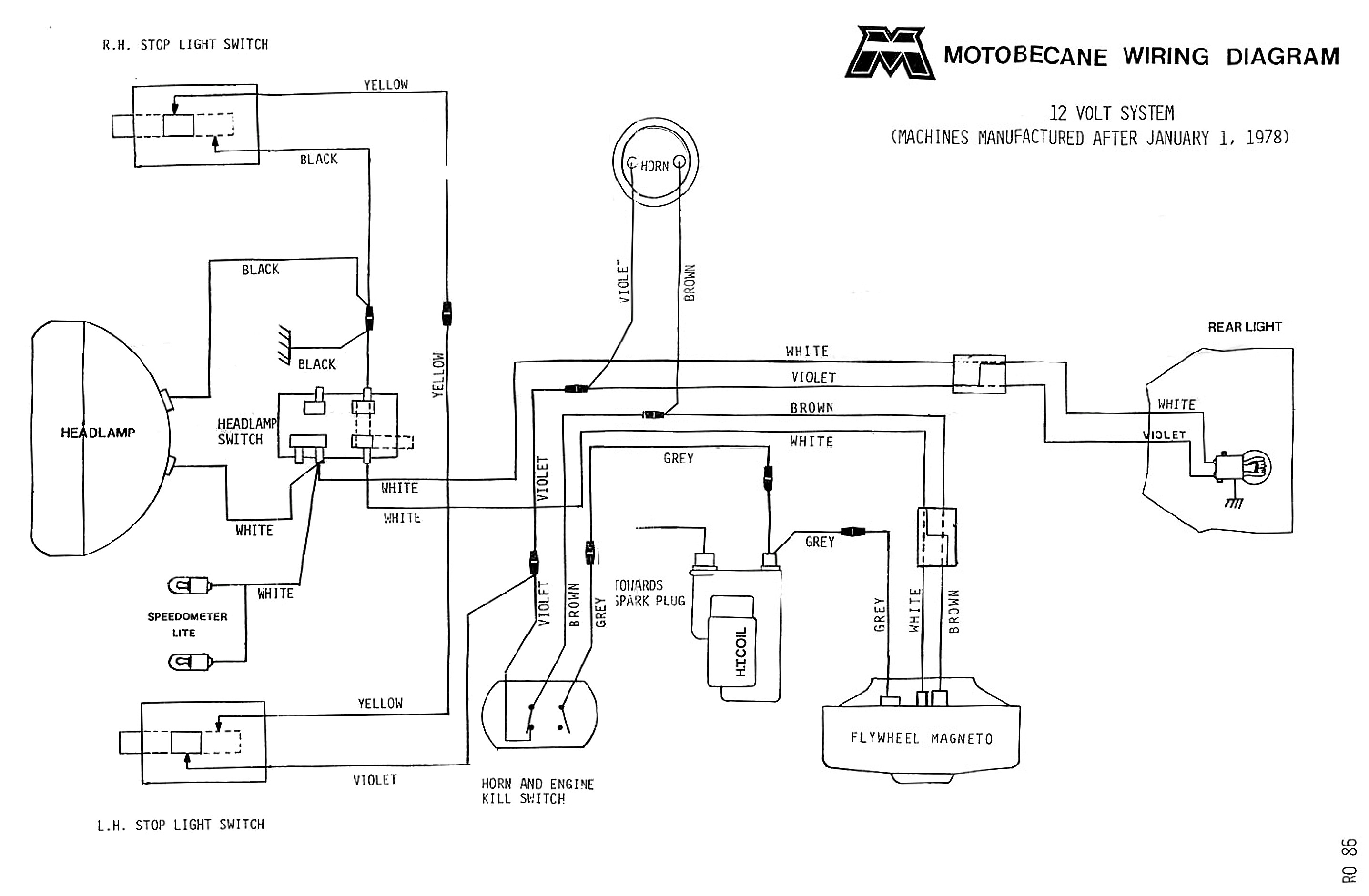 Ford 8N Electrical Diagram | Manual E-Books - Ford 8N Wiring Diagram