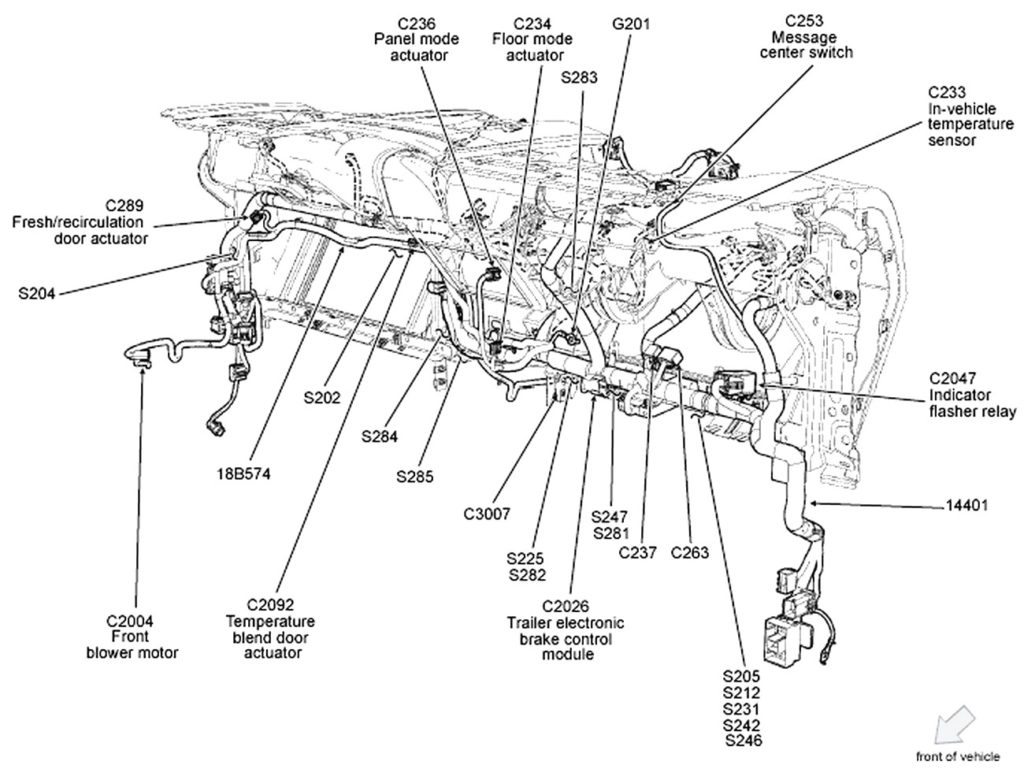 Ford F150 Wiring Harness Diagram - Wellread - Ford F150 Wiring Harness Diagram