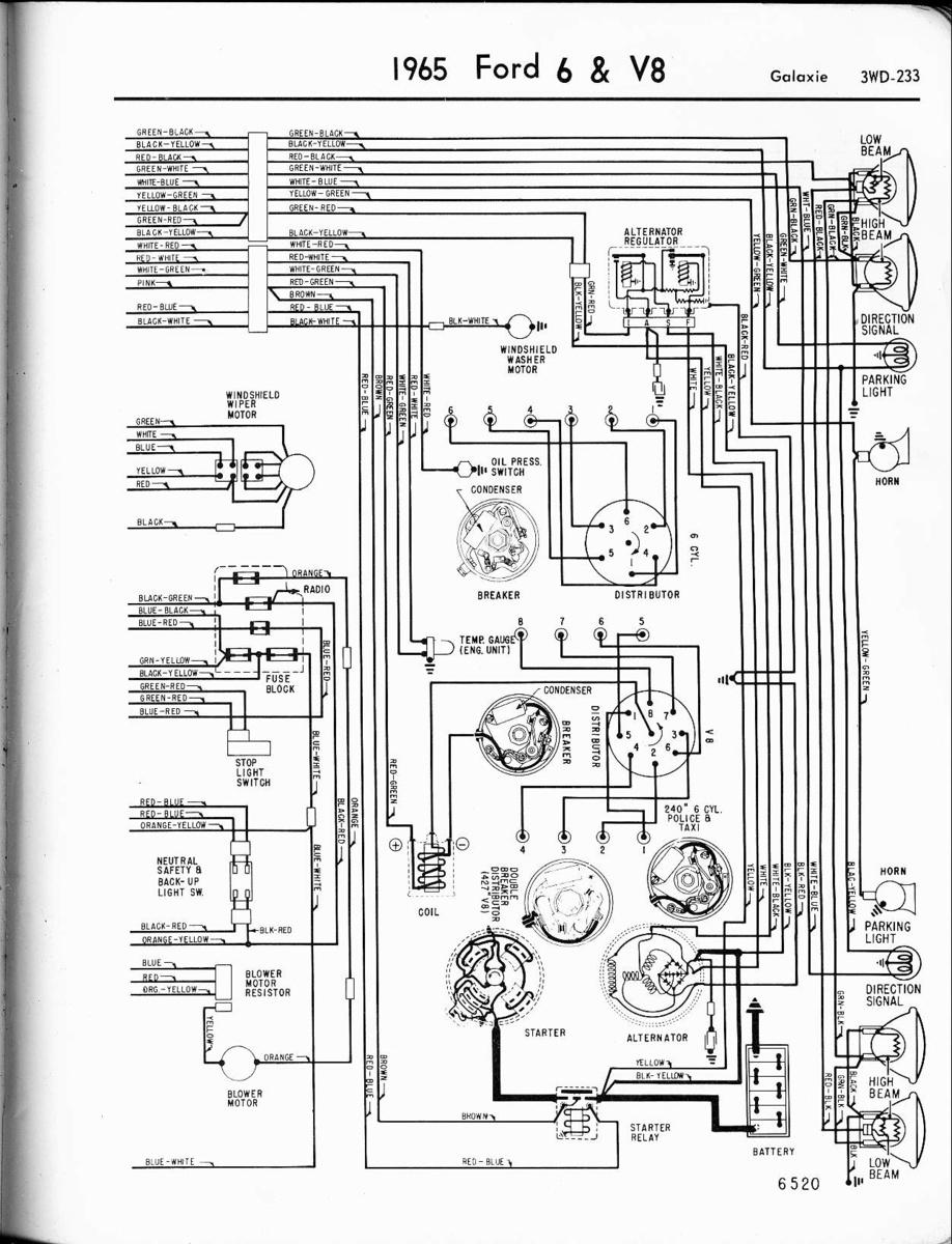 Ford Galaxie Questions - Car Wont Start - Cargurus - Model A Ford Wiring Diagram