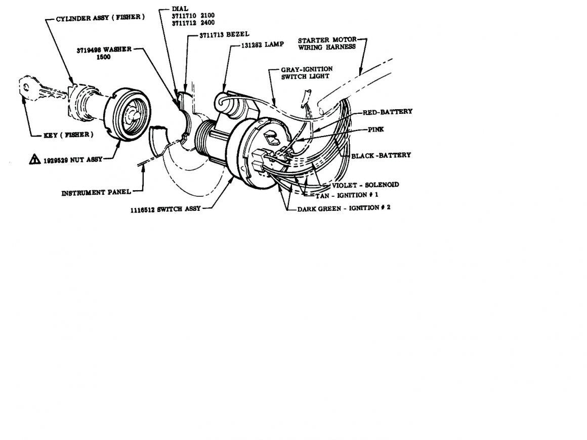 Ford Ignition Key Wiring Diagram | Wiring Diagram - Ford Ignition Switch Wiring Diagram