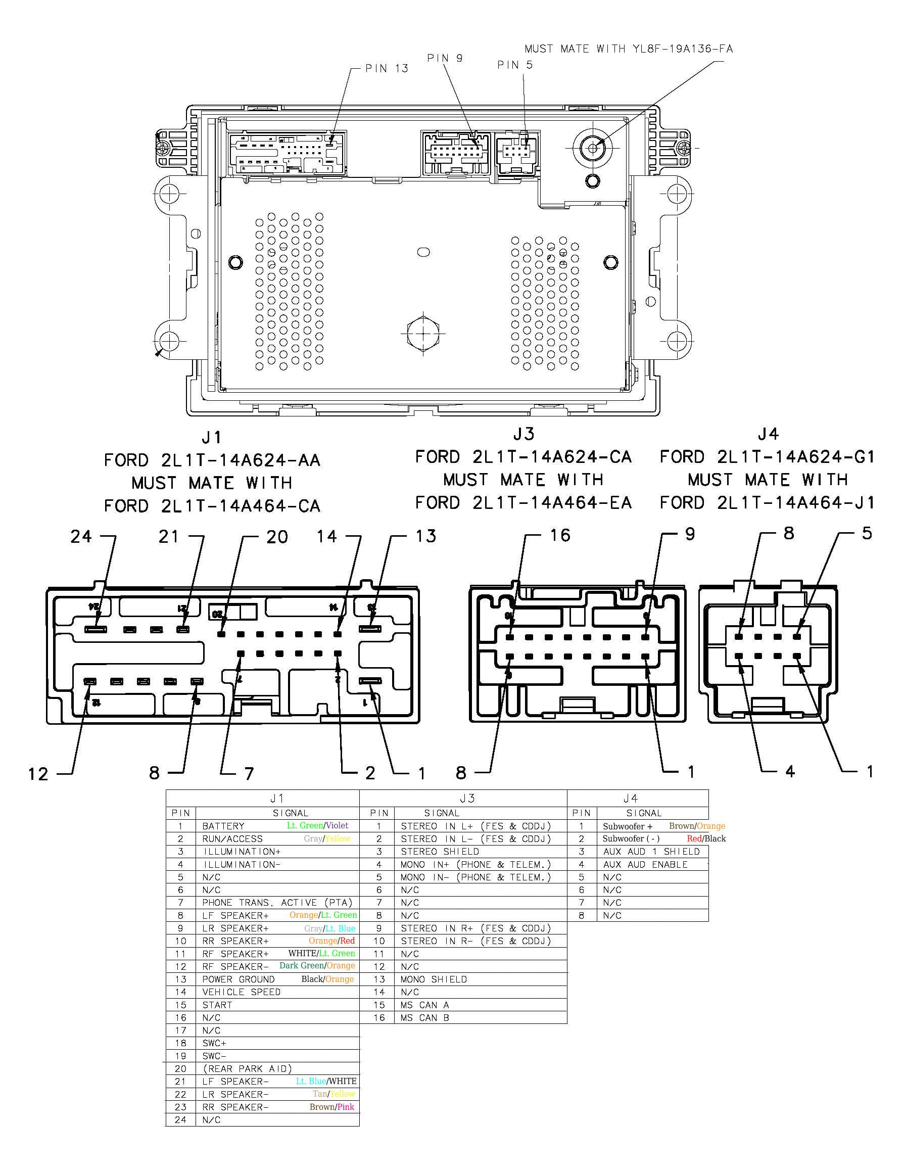 Ford Mustang Radio Wiring Diagram - Mikulskilawoffices - Ford Radio Wiring Diagram