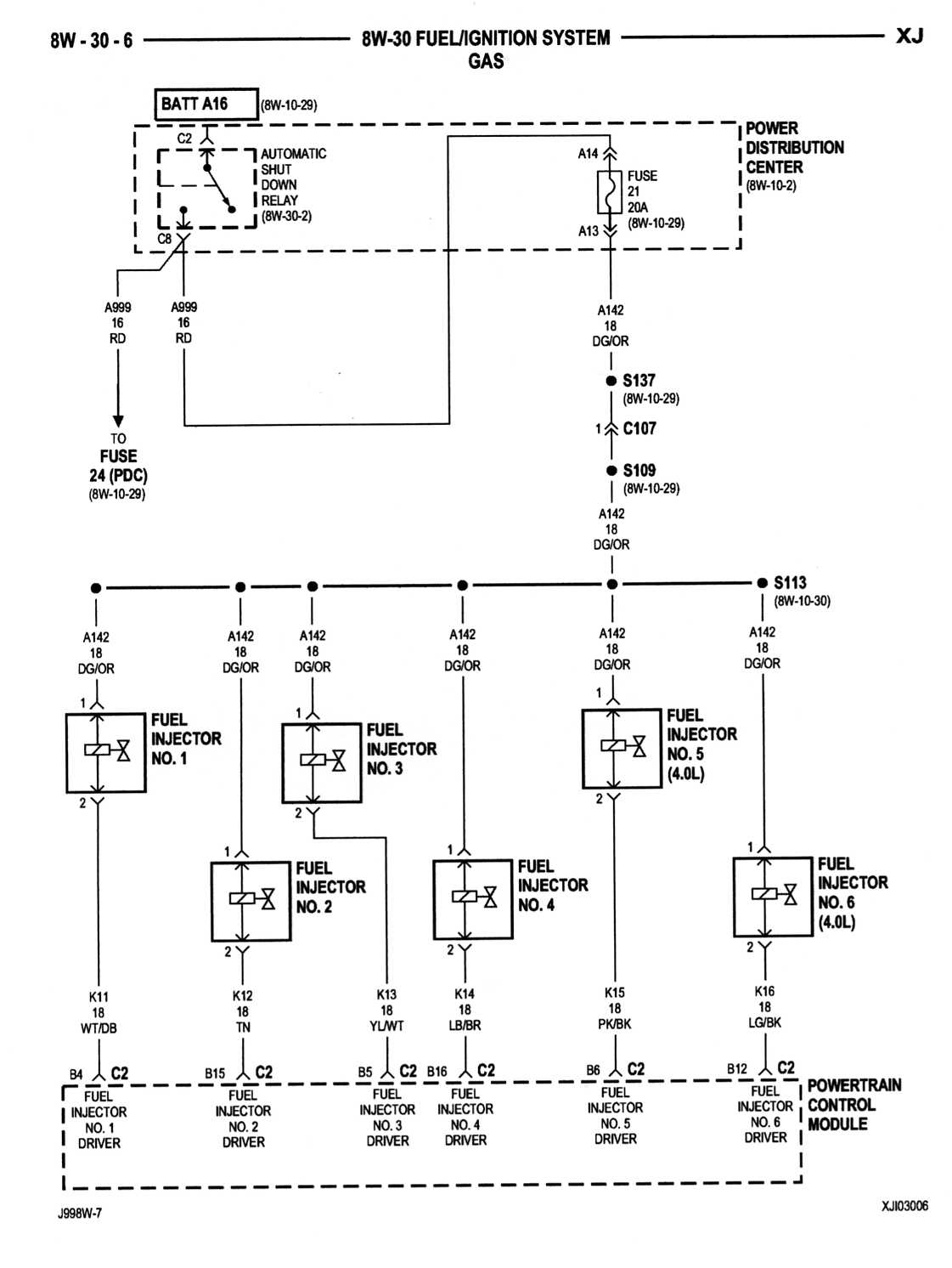 2003 Cadillac Cts Fuel Injector Wiring Diagram from 2020cadillac.com