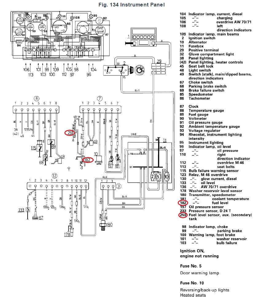 Fuel Tank Schematic Diagram | Wiring Library - Fuel Sending Unit Wiring Diagram