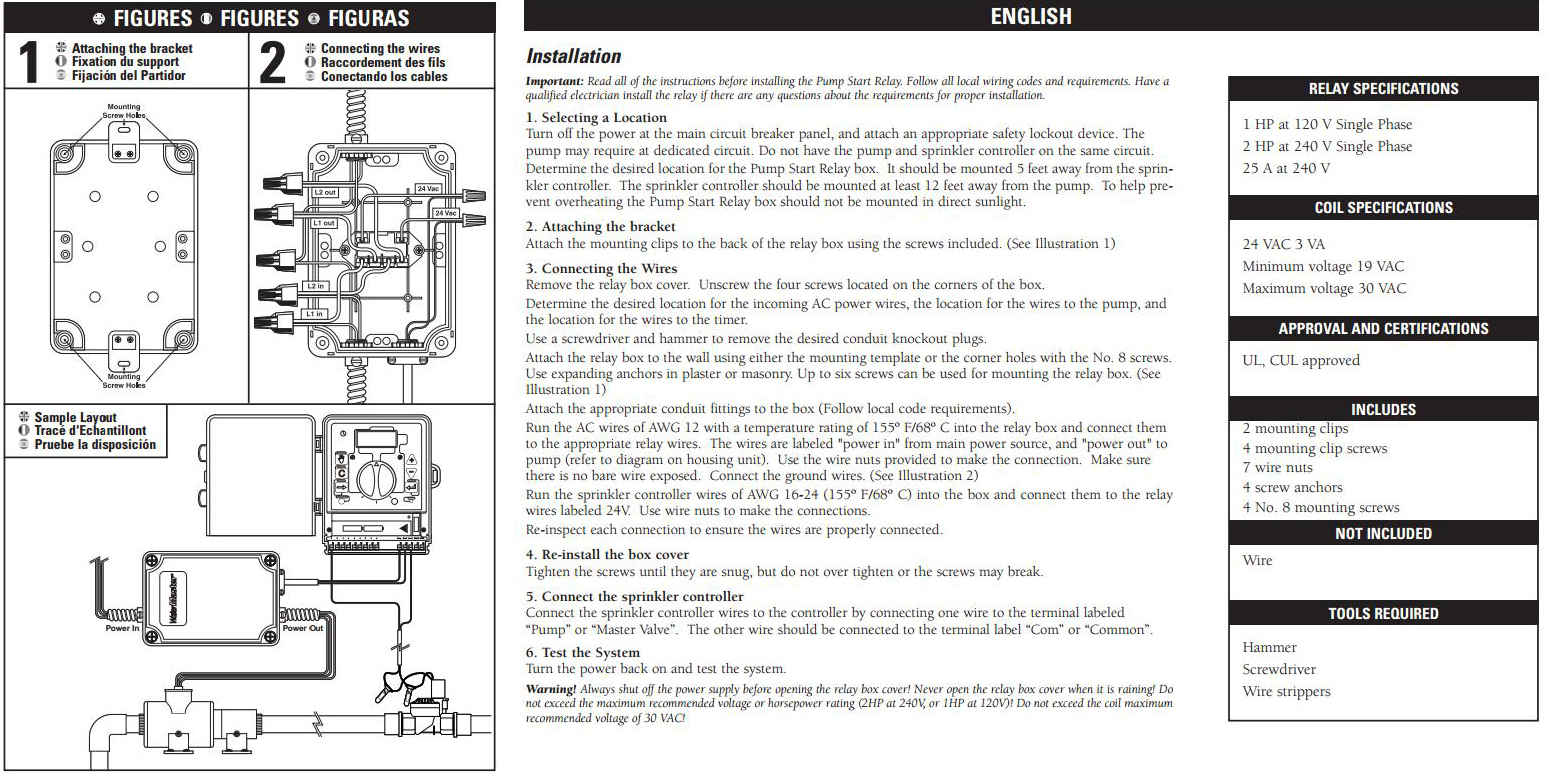 Gauges, Switches And Enclosures - Pump Start Relay - Perth - Pump Start Relay Wiring Diagram