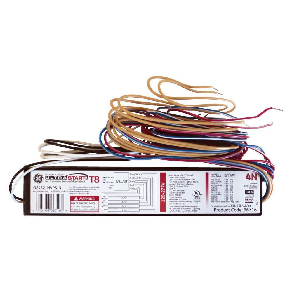 2 Lamp Emergency Ballast Wiring Diagram - Free Wiring Diagram For You  U2022