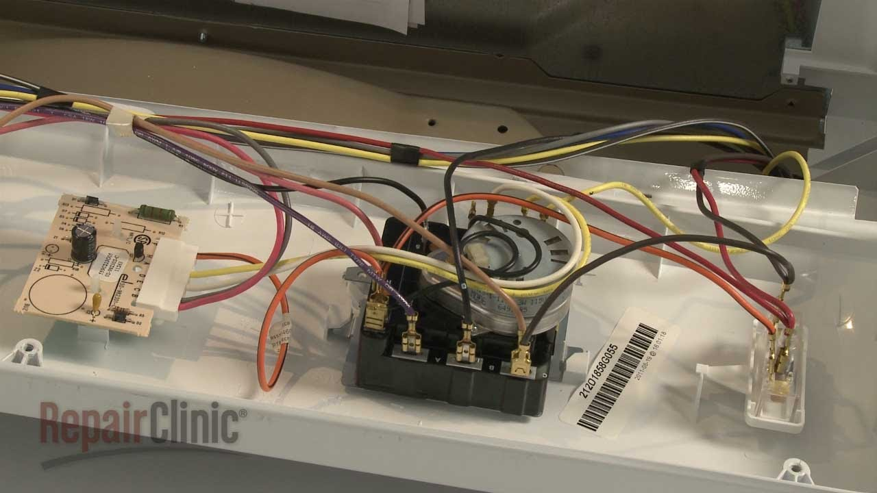 Ge Dryer Timer Replacement #we4M365 - Youtube - Ge Dryer Wiring Diagram
