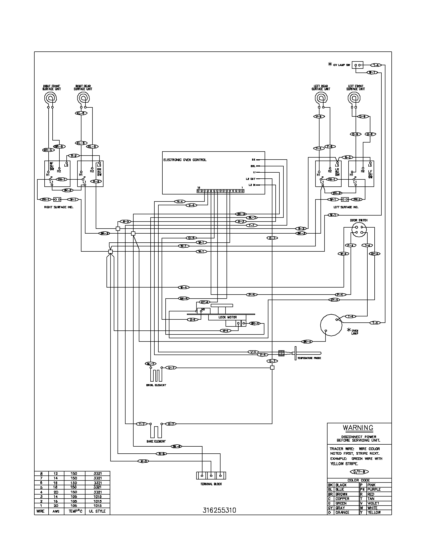 Ge Electric Stove Wiring Diagrams | Wiring Diagram - Electric Stove Wiring Diagram