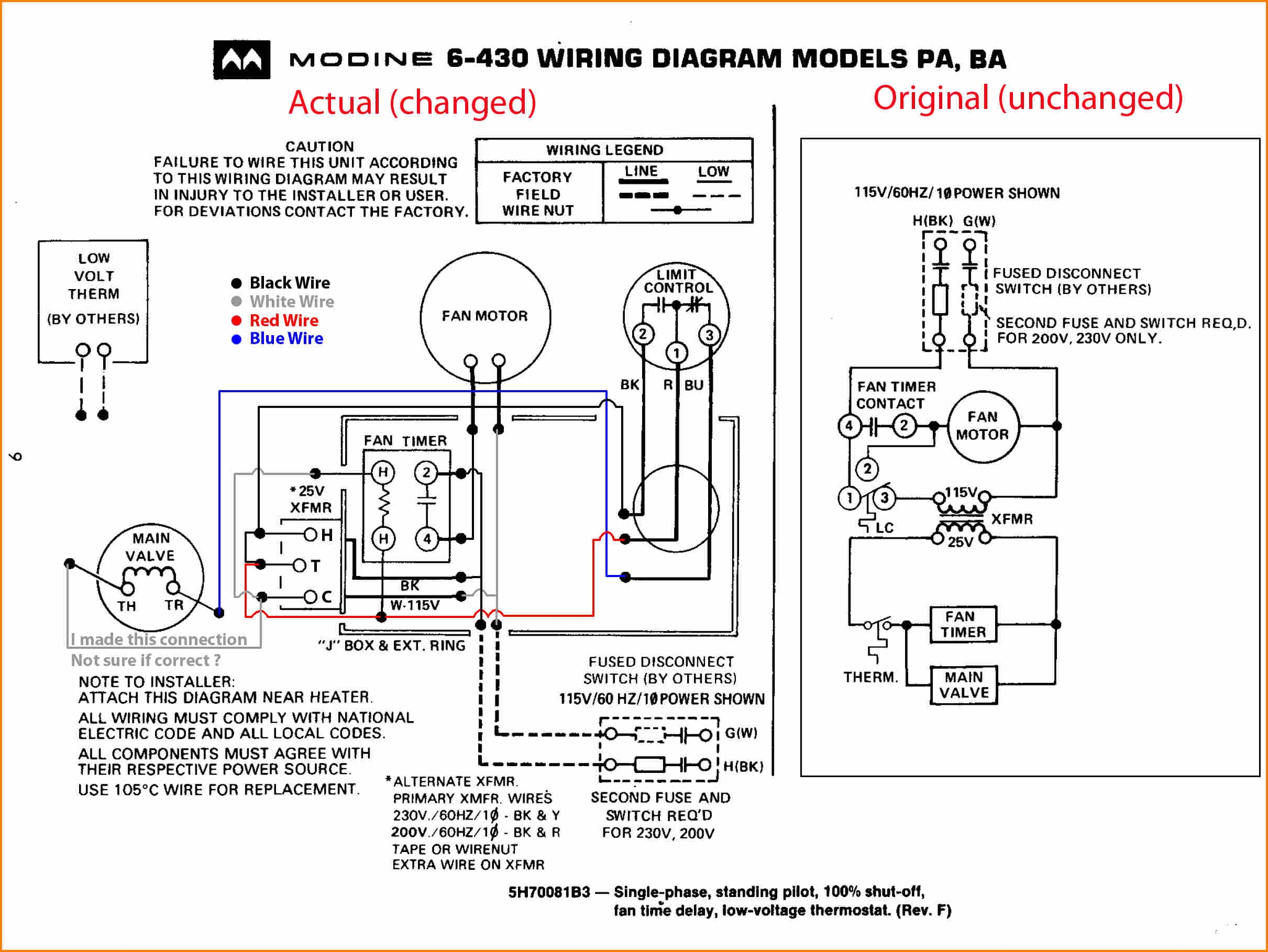 Hvac Motor Wiring Diagram - Wiring Diagram Name