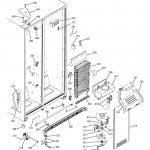 Ge Model Dss25Pfmdww Side By Side Refrigerator Genuine Parts   Ge Dryer Wiring Diagram