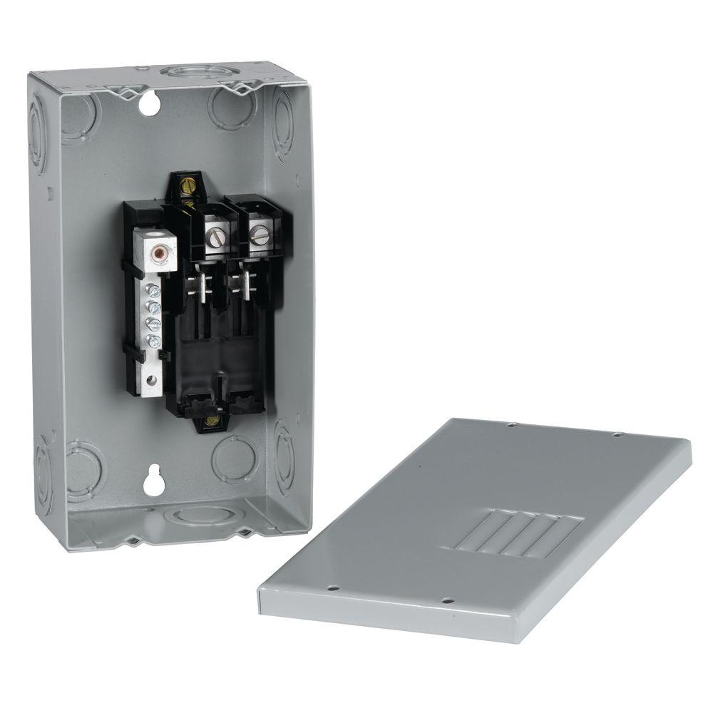 Ge Powermark Gold 70 Amp 2-Space 4-Circuit Indoor Single-Phase Main - Ge Powermark Gold Load Center Wiring Diagram