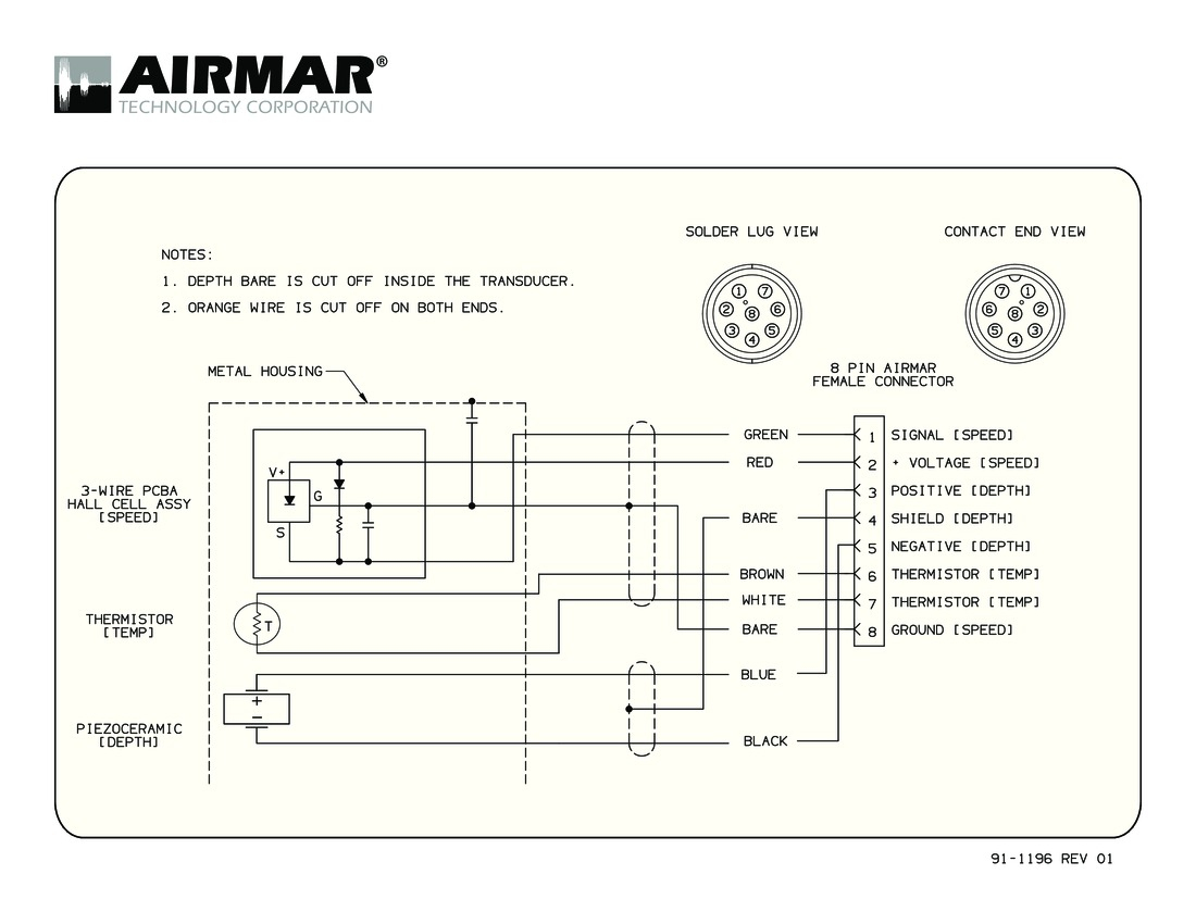Gemeco | Wiring Diagrams - 2 Wire Speed Sensor Wiring Diagram
