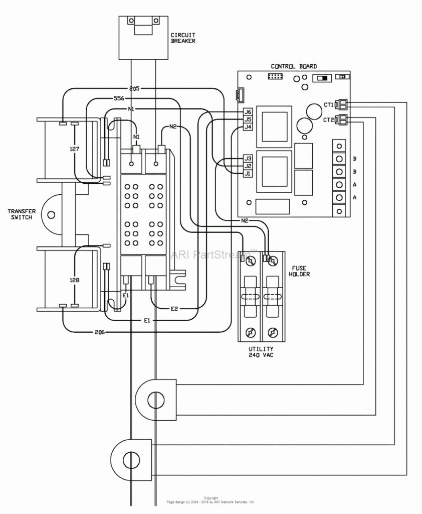 Generac 200 Amp Transfer Switch Wiring Diagram Beautiful Generac - Generac Automatic Transfer Switch Wiring Diagram