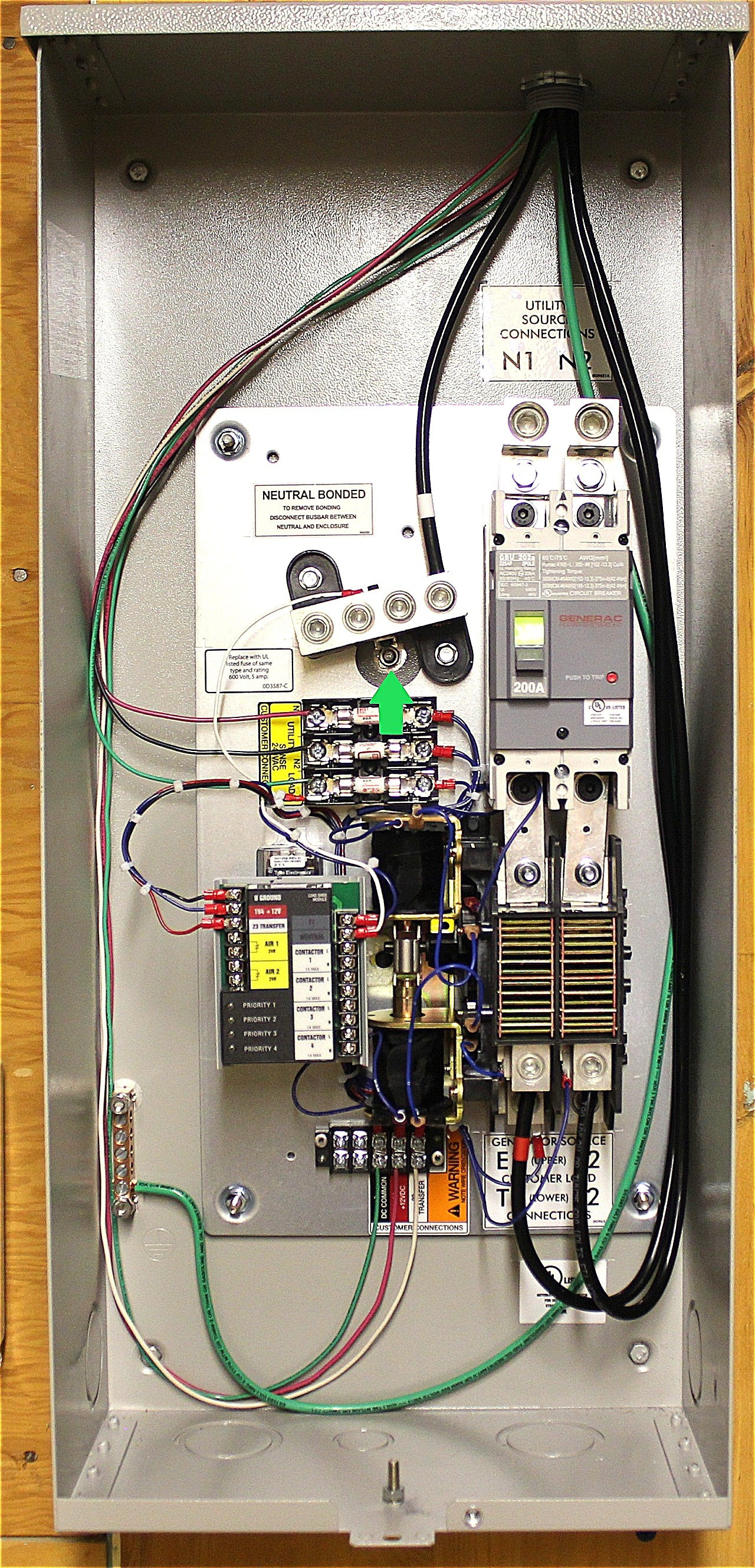 Generac Automatic Transfer Switch Wiring Diagram New Generac Ats - Generac Automatic Transfer Switch Wiring Diagram