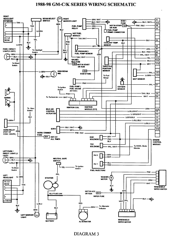 General Motors Wiring Harness   Schematic Diagram - General Motors Wiring Diagram