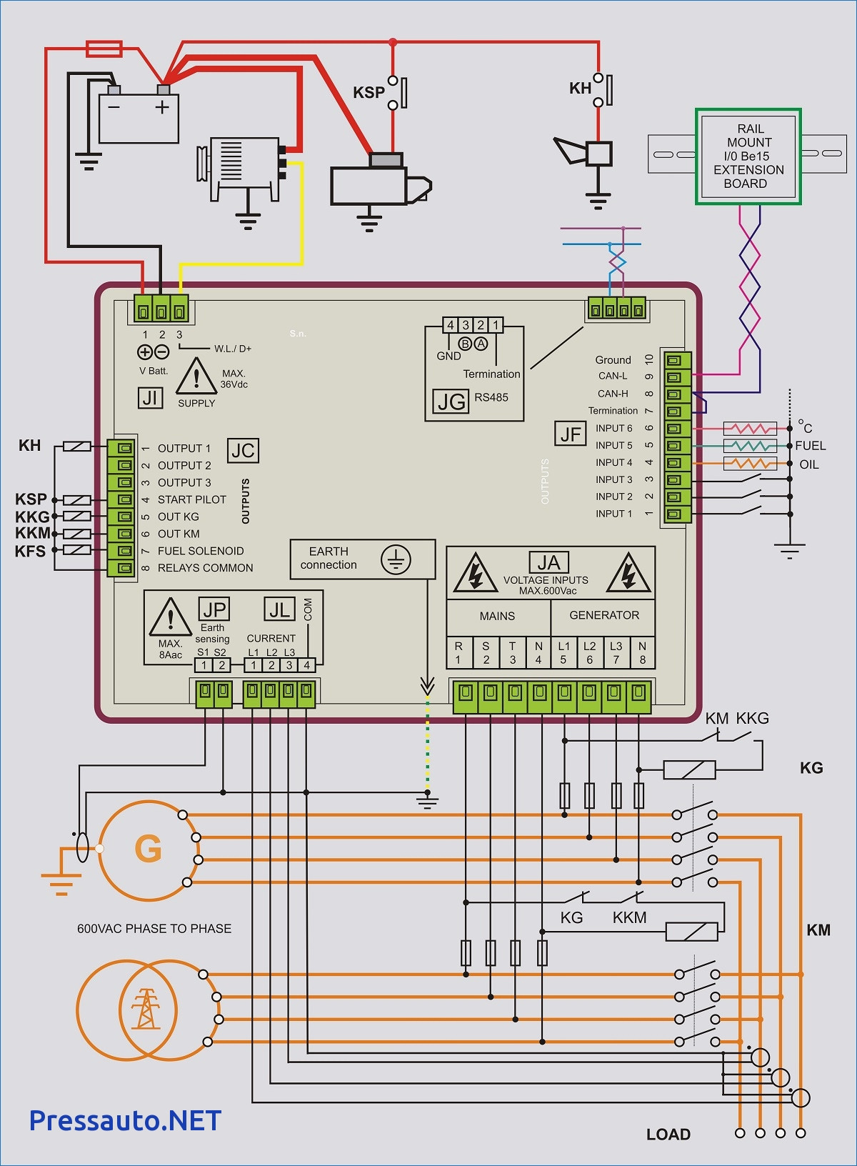 Generator Automatic Transfer Switch Wiring Diagram Generac With - Generator Automatic Transfer Switch Wiring Diagram