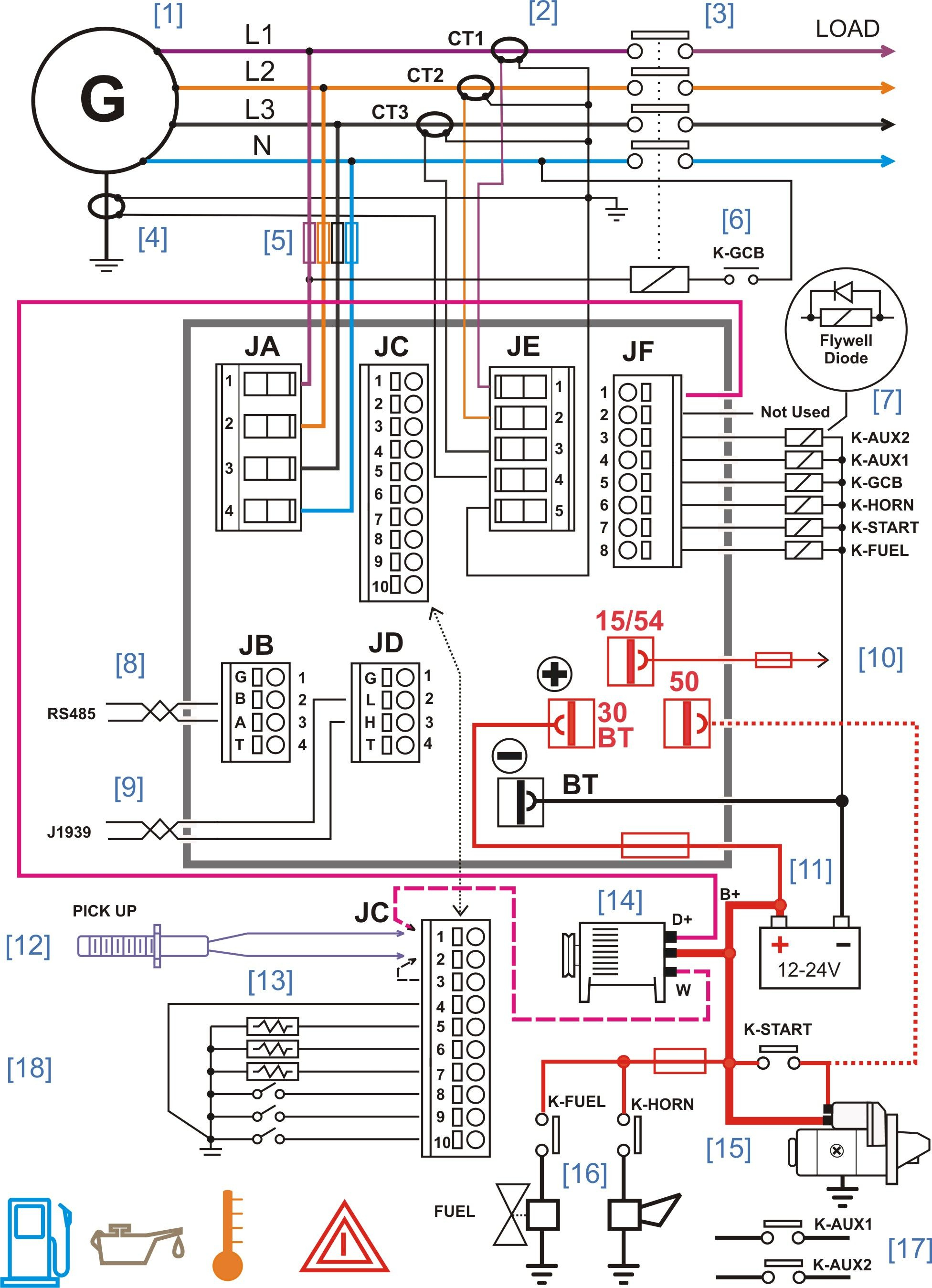 Generator Panel Wiring - Data Wiring Diagram Detailed - Solar Panel Wiring Diagram