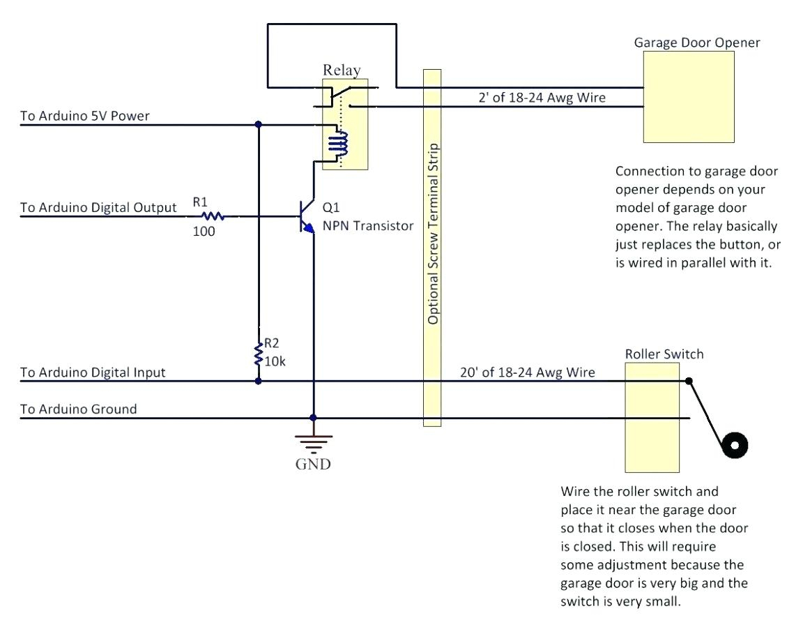 Genie Garage Wiring Safety Laser - Great Installation Of Wiring - Genie Garage Door Sensor Wiring Diagram