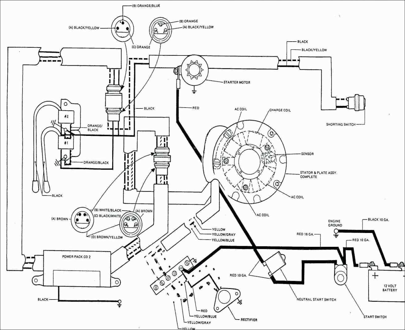 Gm 1 Wire Alternator Wiring Diagram Gm 1 Wire Alternator Wiring - Gm 4 Wire Alternator Wiring Diagram