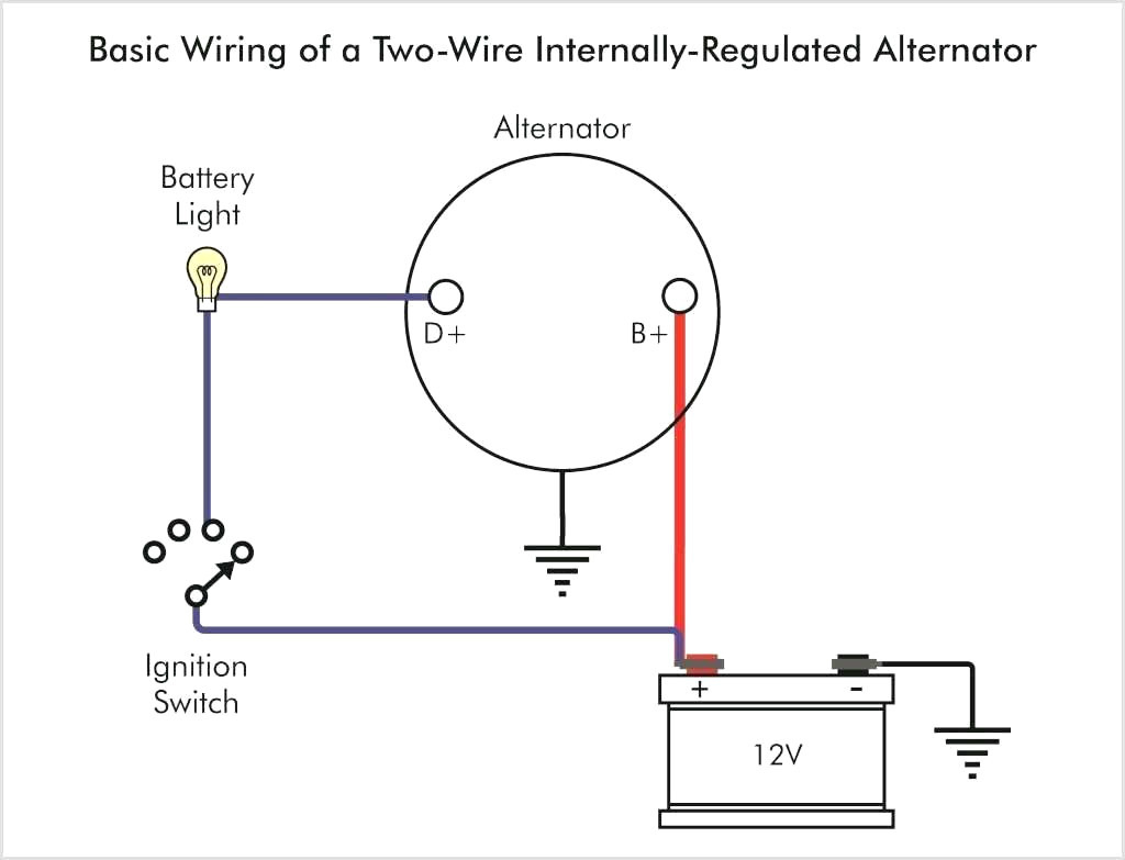 Gm 1 Wire Alternator Wiring - Wiring Diagrams Hubs - Gm 1 Wire Alternator Wiring Diagram