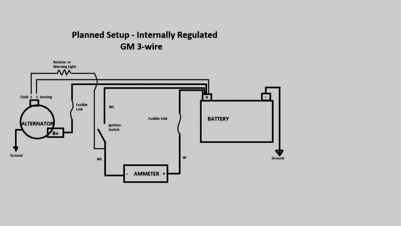Gm 1 Wire Wiring | Wiring Diagram - 1 Wire Alternator Wiring Diagram