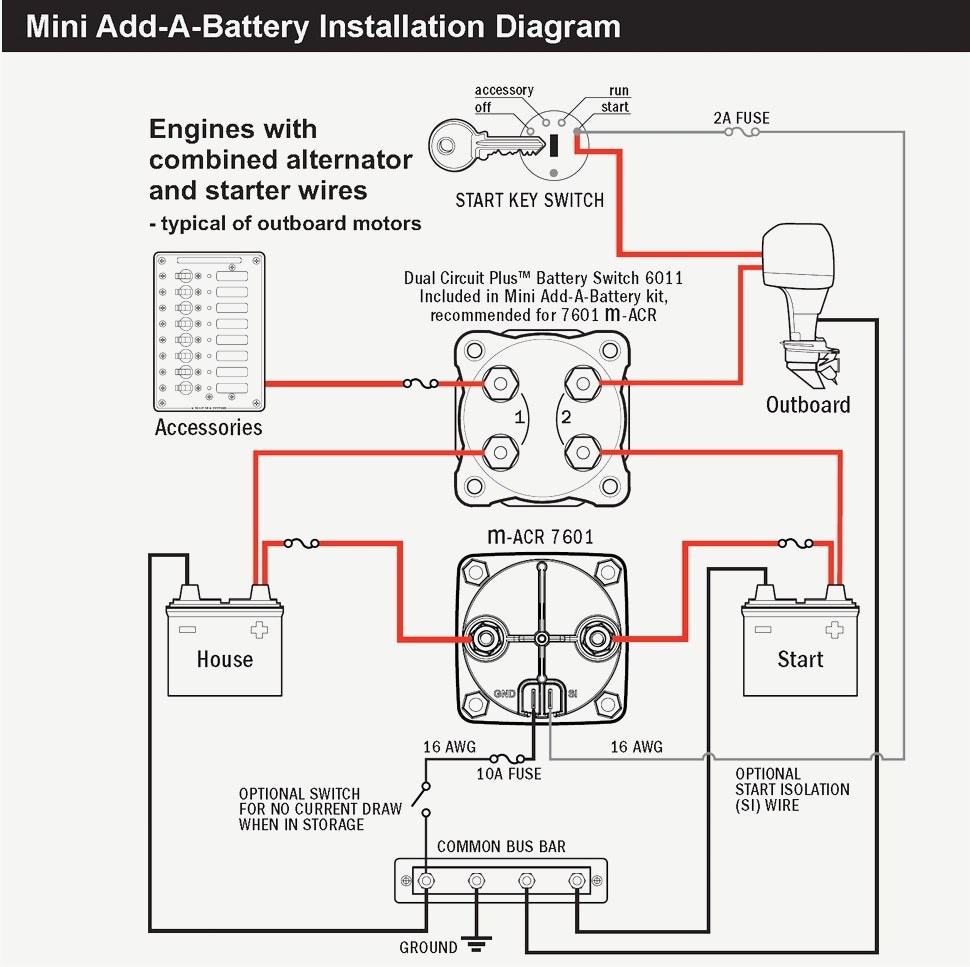 Gm Dual Battery Wiring Kit | Wiring Diagram - Dual Alternator Wiring Diagram