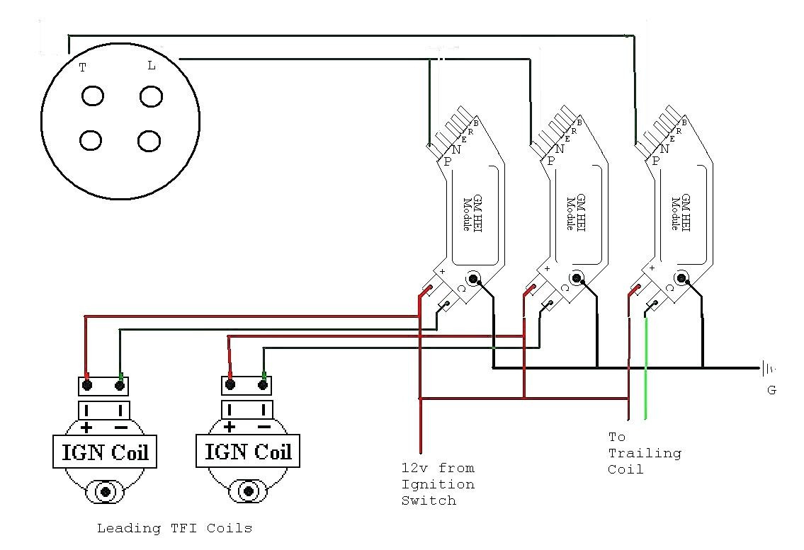 Gm Hei Diagram - Wiring Diagram Blog - Coil Wiring Diagram