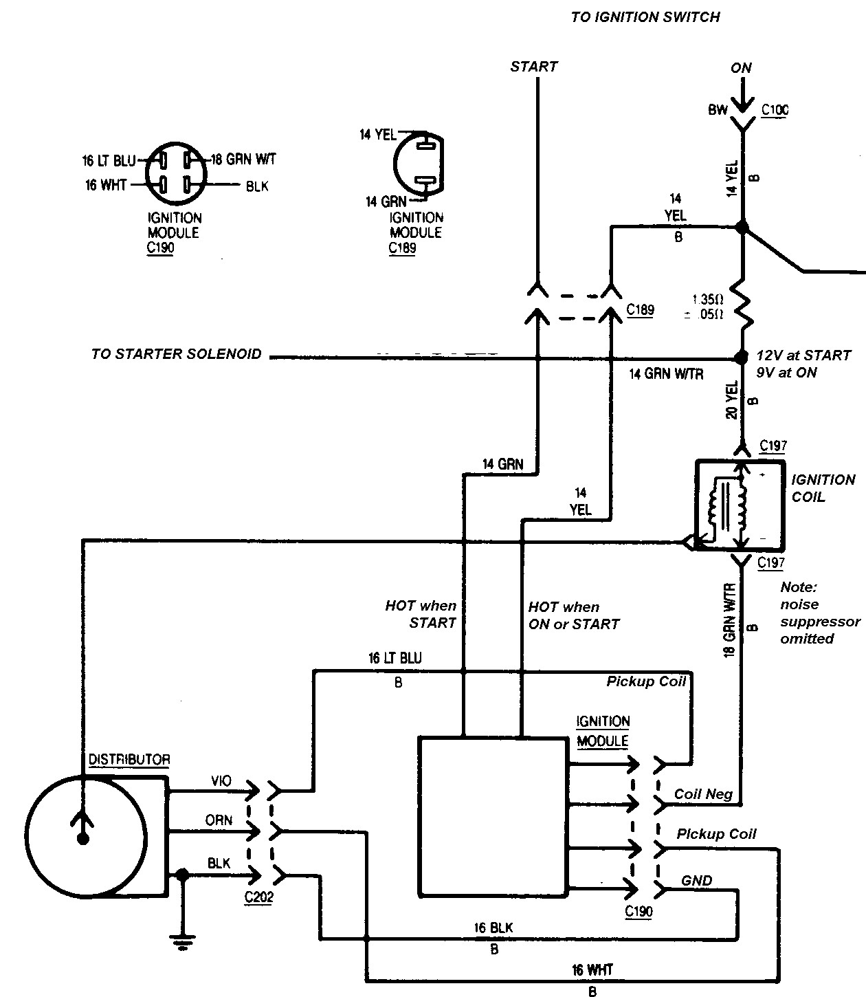 Gm Ignition Module Wiring Diagram - Wiring Diagram Explained - Ford Ignition Control Module Wiring Diagram